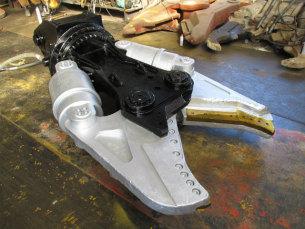 タグチ工業製 0.7ダブルシリンダー鉄骨カッター ガジラTDXカッター