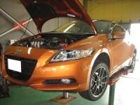HONDA CR-Z  with  HKS GT-SUPER CHARGER! ①