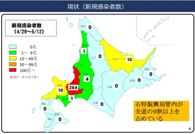 北海道 コロナ どこ ウイルス の