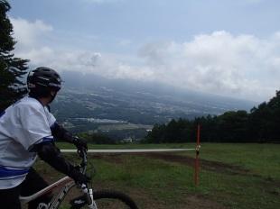MTBの常設コース「富士見パノラマ」に行ってきました。
