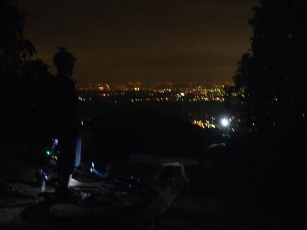 MTBで夕涼みライドに登ってきました〜。