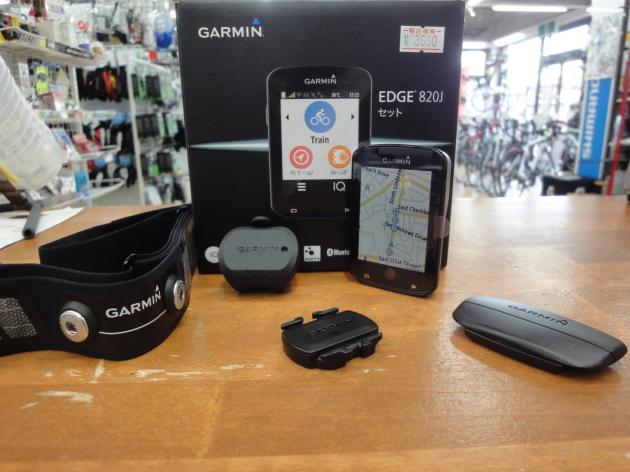 Garmin(ガーミン)のNewミドルクラスEdge820J(エッジ820ジェー)