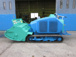 共栄社バロネス製 草刈りハンマーナイフモア HM1560 完全整備