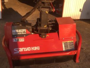 三陽機器製 0.1〜0.15㎥(3-3.5t) 草刈りハンマーナイフモア HKM-902PS-DX