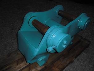油圧ショベル用クイックワンタッチカプラー K-Lock