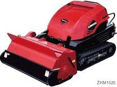 コマツゼノア製 搭乗式ハンマーナイフモア芝刈り機 ZHM1510
