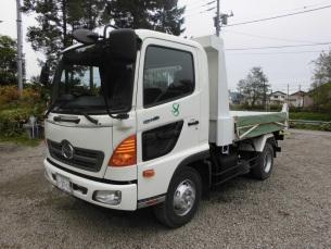 日野自動車製 4tダンプトラック