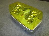 エスワイエス製 回転灯(黄色・2灯式) 未使用新古品