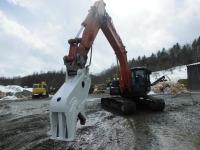 油圧式混合廃棄物切断機「ハイパーホワイトシャーク」