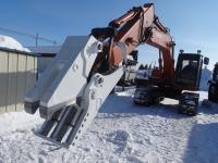 機械式混合廃棄物切断機「ホワイトシャーク」