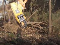 伐採用木材切断機「ギロポン」