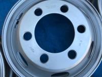 TOPY製 4tトラック用スチールホイール6本セット 17.5×6.00 135-9TCS