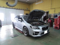 スバル WRX STI VAB HKS EXHAUST ECU PACKAGE取付