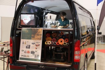 SPROUT SEWING HIACE がやってくる!