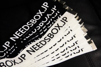 NEEDSBOX.JP Staff Belt off-white
