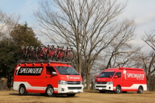 スペシャライズド SPECIALIZED SBCU HIACE WAGON GL 取材
