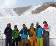 SKI & WINTER HIACE SESSION in 朝里川温泉スキー場
