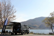 NEEDSBOX VanLife in 猪苗代湖