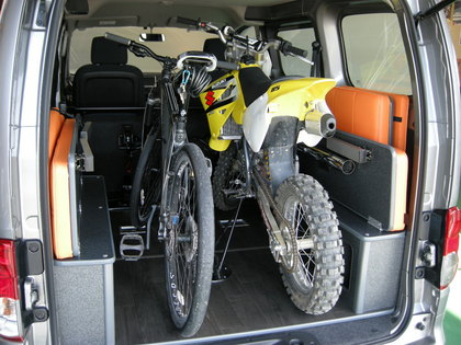 nv200 トランポ 自転車