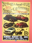 21th STREET CAR NATIONALS に出展予定です