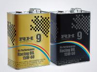 RH9ハイパフォーマンスレーシングオイル ブラック缶 15W-50